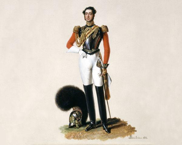 Lieutenant Thomas Myddleton Biddulph, 1st Life Guards, 1833