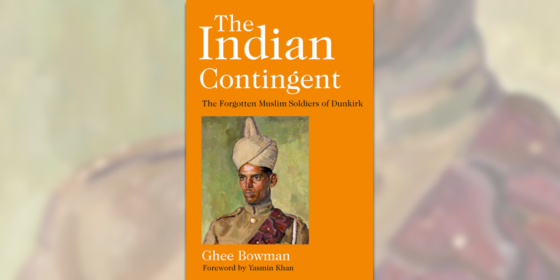 'The Indian Contingent at Dunkirk' book cover