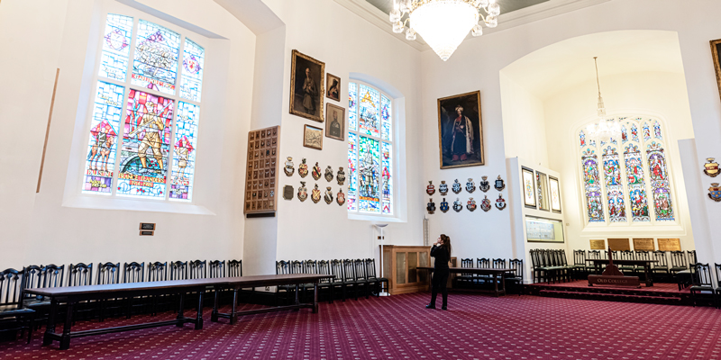 The Indian Army Memorial Room at the Royal Military Academy Sandhurst, 2019
