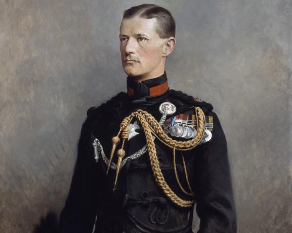 Lieutenant Frederick Roberts, The Kings Royal Rifle Corps, c1899