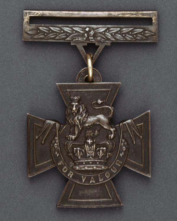 Early casting of a Victoria Cross, 1856