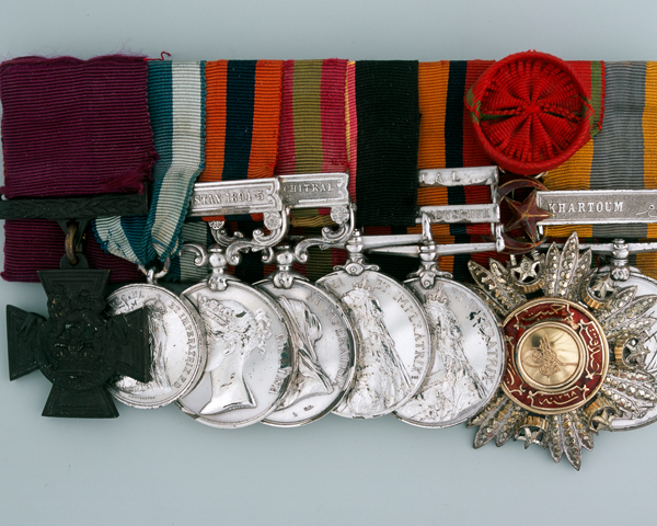 VC group awarded to Lieutenant Frederick Roberts, The King's Royal Rifle Corps, 1894-99