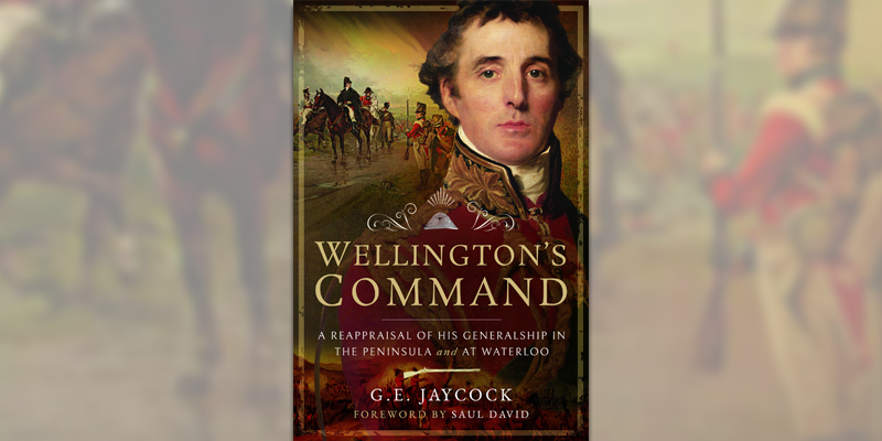 'Wellington's Command' book cover.