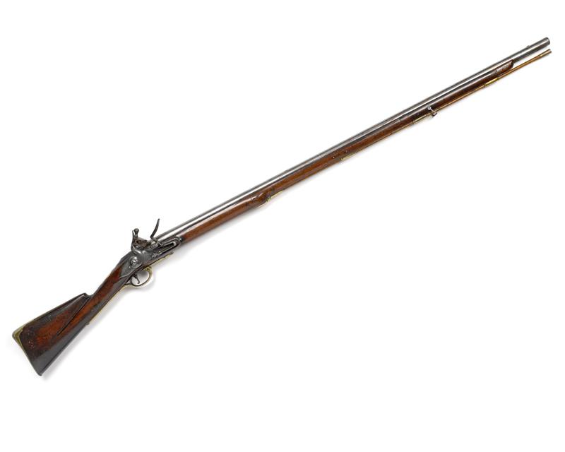 .78 inch flintlock musket, Long Land Pattern, c1742