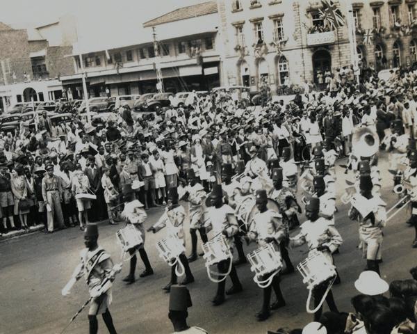 VE Day celebrations in Nairobi, Kenya, May 1945