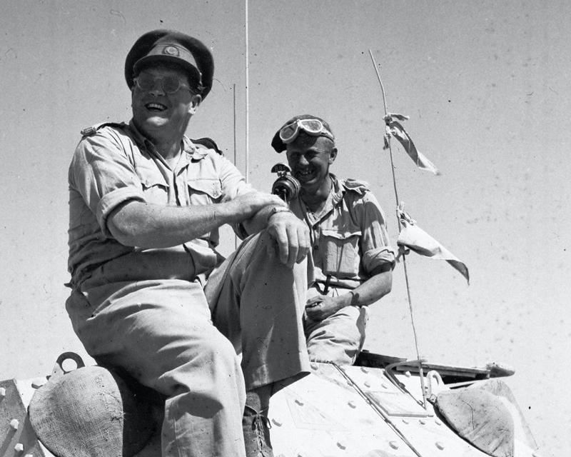 BBC war correspondent Richard Dimbleby, c1943
