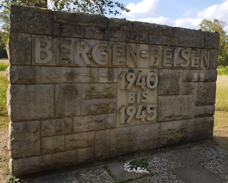 Memorial to the victims of Belsen, 2019