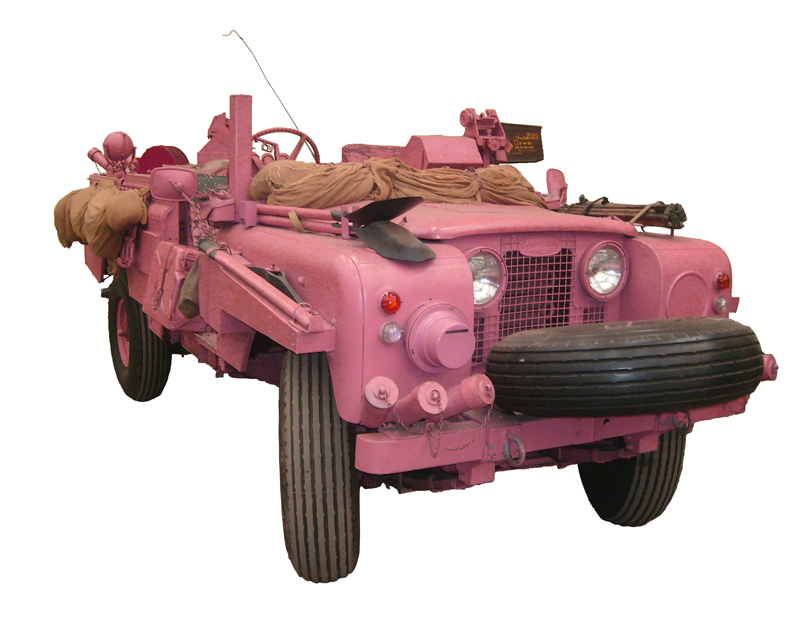 Land Rover, 109 Pink Panther, 4x4 utility vehicle, 1969