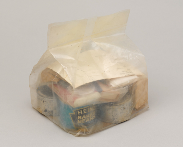 Ration pack for Gurkhas, 1974