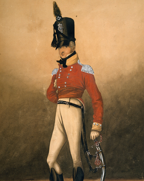 Captain Henry Proctor, 82nd (The Prince of Wales's Volunteers) Regiment of Foot, 1806