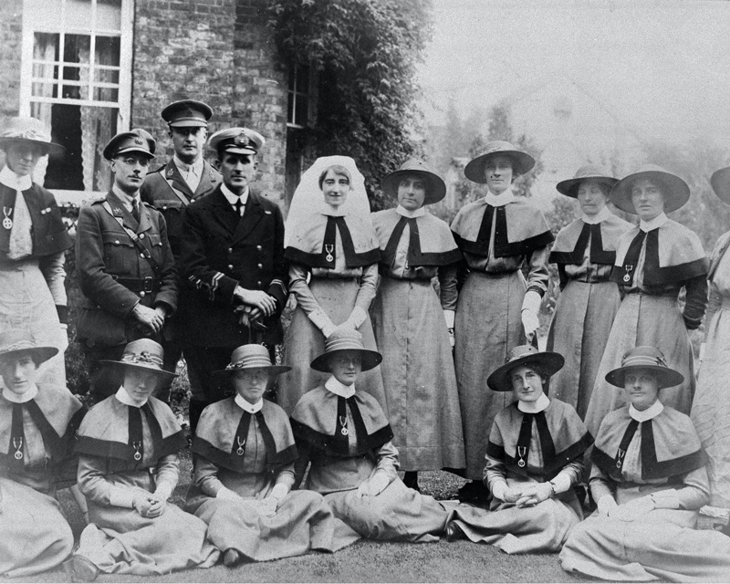 Members of Queen Alexandra's Imperial Military Nursing Service, c1914