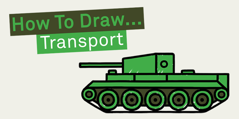 How to Draw: Transport edition