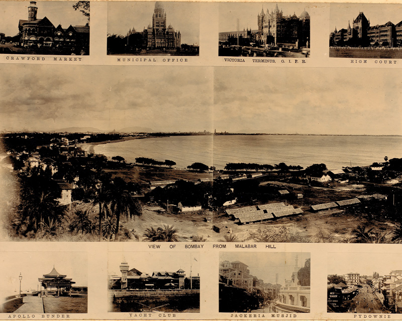 Views of Bombay in the photographic album of Captain C. Moss, 1897