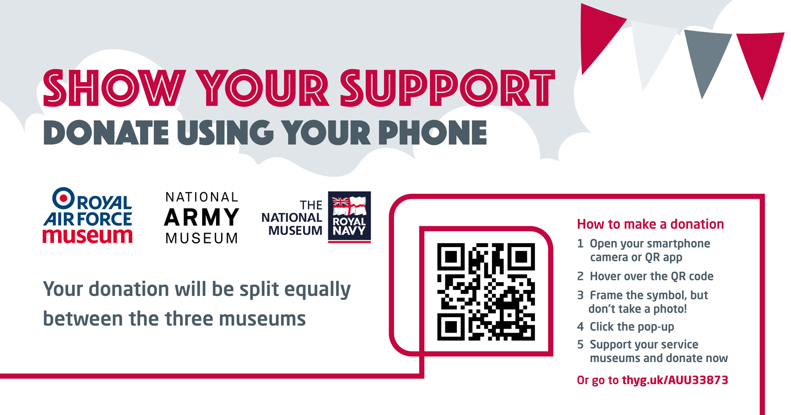 Show your support QR code