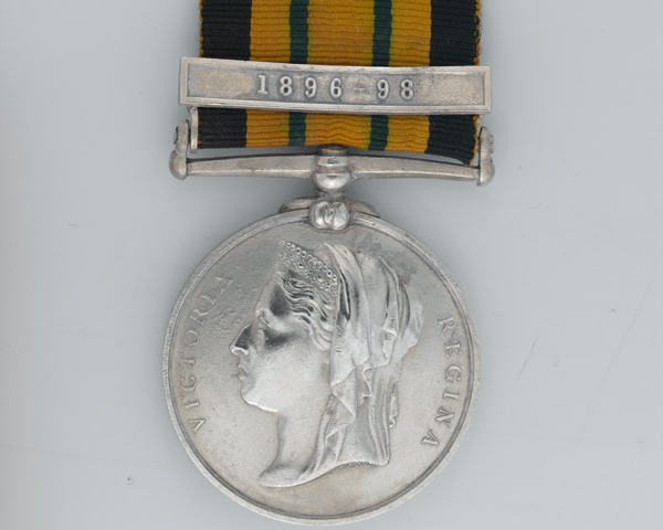 East and West Africa Medal 1897-1900 awarded to Private A Dillon, 2nd Battalion, The West India Regiment