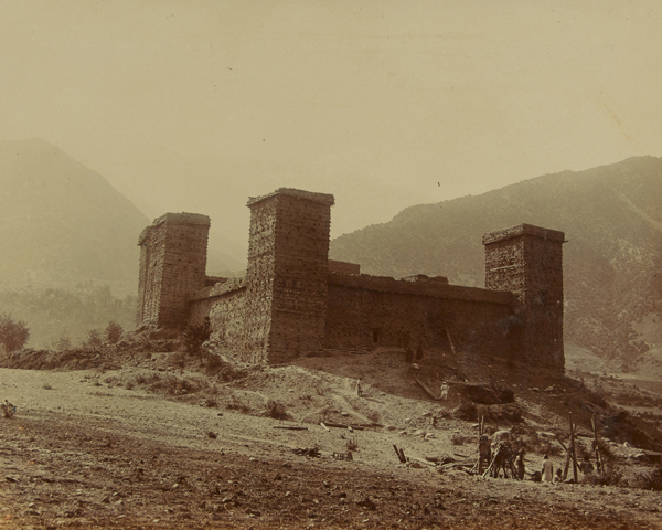 Chitral Fort, 1895