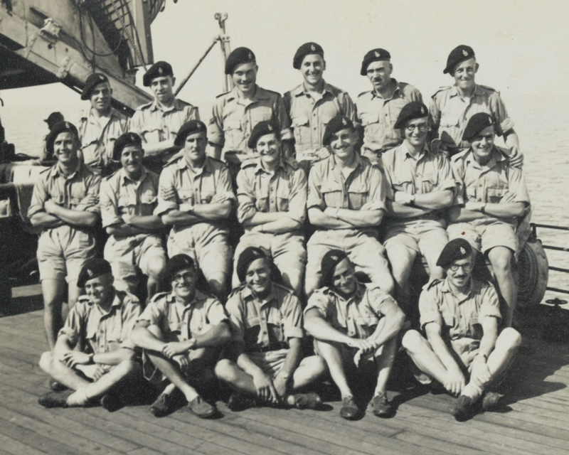 'A' Squadron, No 1 Troop, 3rd County of London Yeomanry (Sharpshooters), 1941