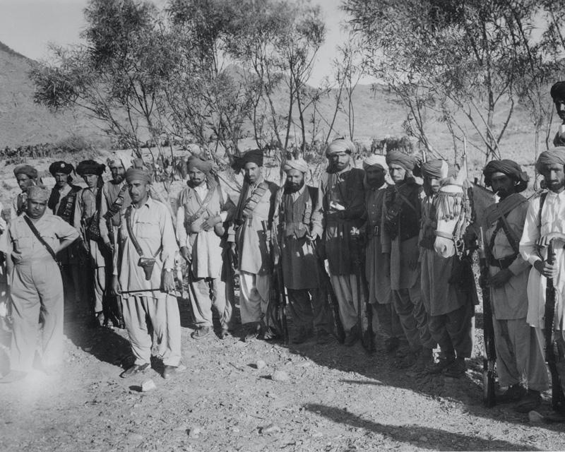 Khasadars (tribal police) in Waziristan, c1946