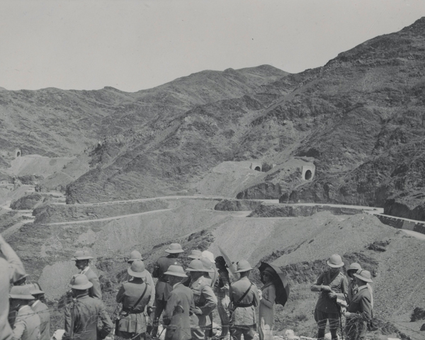 The opening of the Khyber railway, November 1925
