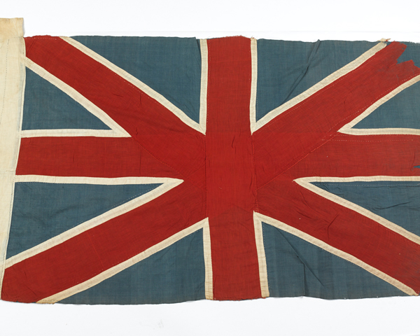 Union Flag made at Chitral during the siege, 1895