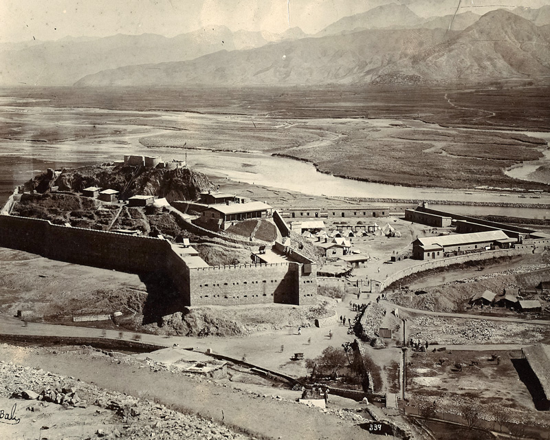 Chakdara Fort on the Swat River, c1905