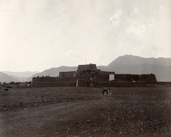 Jamrud fort at the mouth of the Khyber Pass, c1905