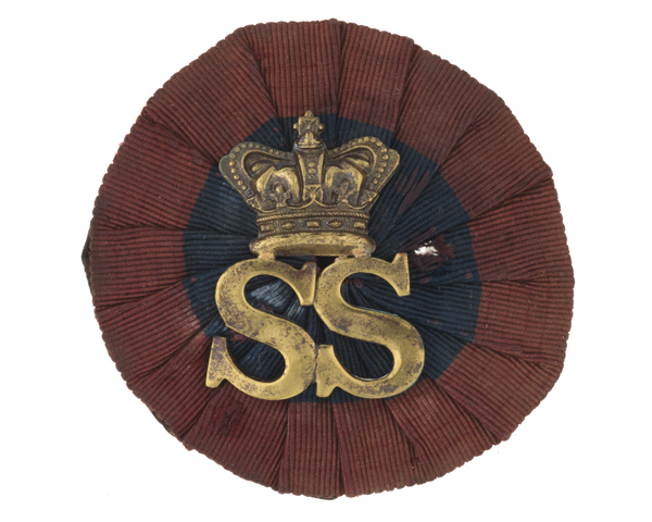 Cap badge, 3rd County of London Imperial Yeomanry (Sharpshooters), c1901