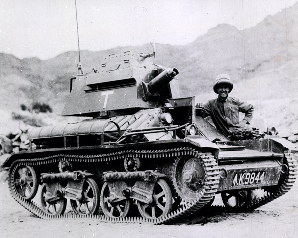 Vickers Light tank, Mohmand, North-West Frontier, 1935
