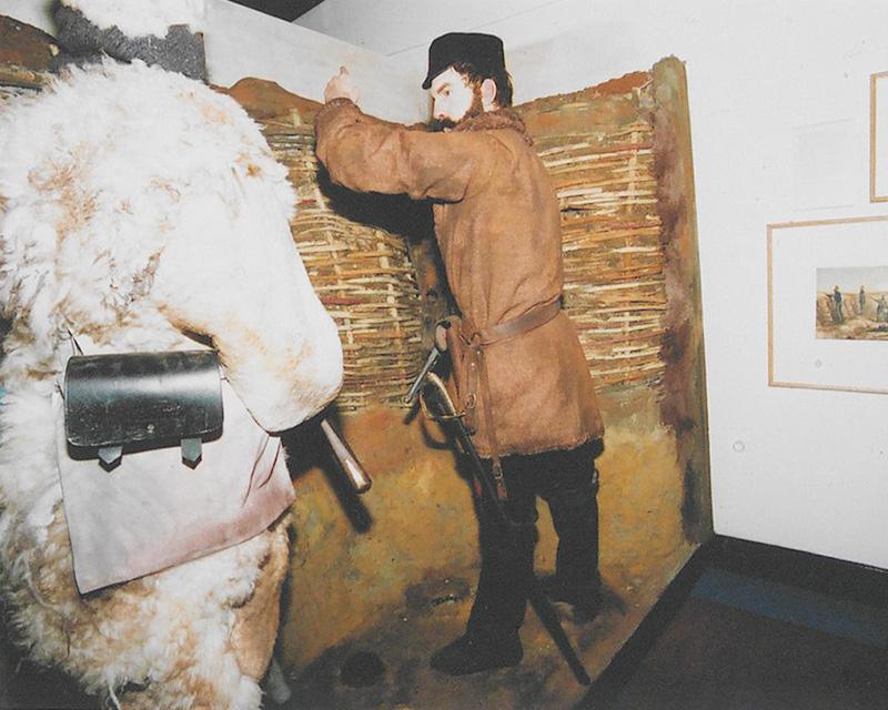 Crimean War mannequins in A Most Desperate Undertaking, 2003