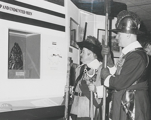 A Pikeman and Musketeer of the Honourable Artillery Company, 1972