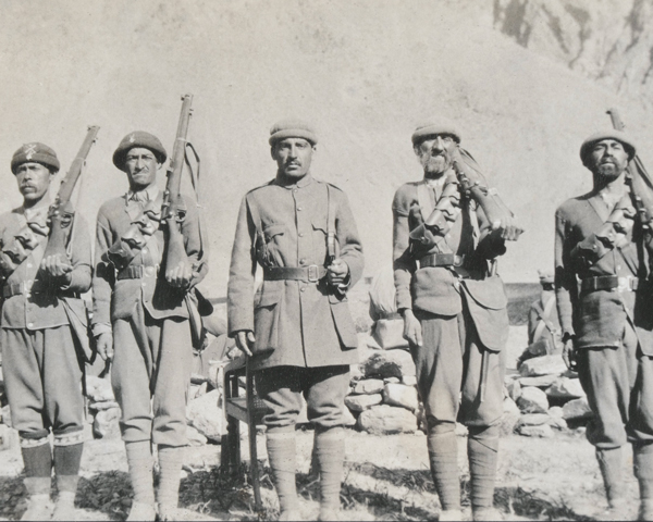 Members of the Chitral Scouts, c1920