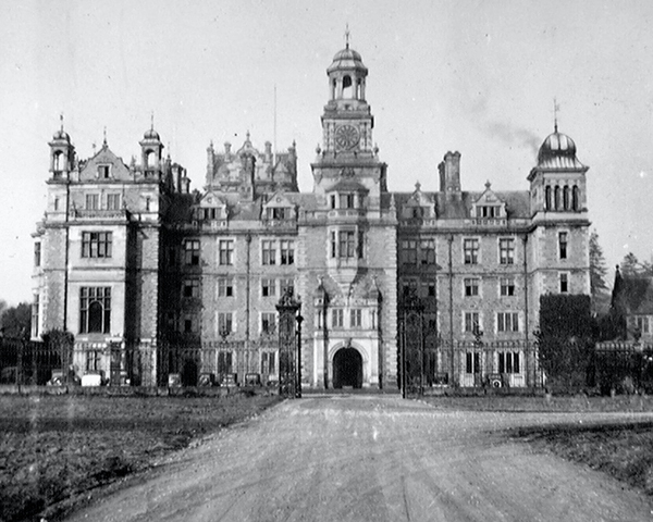Thoresby Hall, Nottinghamshire, 1940
