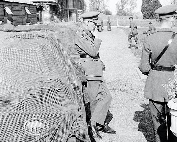 Lieutenant-Colonel R K 'King' Jago, c1940