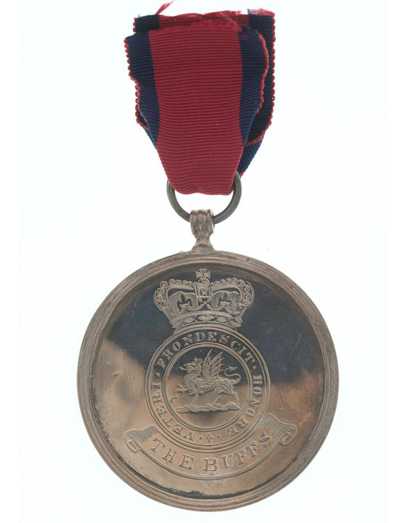 Silver Medal for Merit awarded to Private William Carr, The Buffs Regiment, 1811