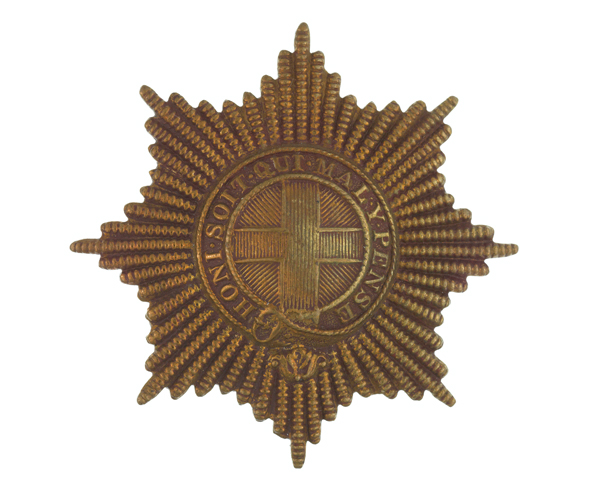 Other rank's cap badge, Coldstream Guards, c1910
