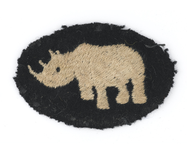 Formation badge, 1st Armoured Division, c1940