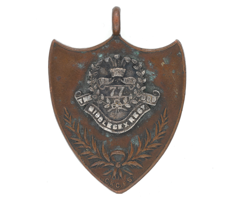 Sports medal awarded to Private Mangold, The Middlesex Regiment (Duke of Cambridge's Own), 1927
