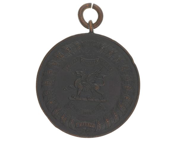 Running medal, Private L E Dale, 1st Battalion, The Buffs (Royal East Kent Regiment), 1927
