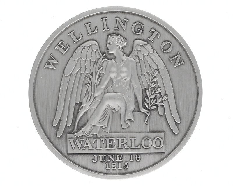Blues and Royals' Battle of Waterloo 200th anniversary commemorative medal, 2015