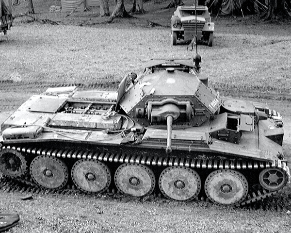 A Crusader Mark VI Cruiser tank, 3rd County of London Yeomanry (Sharpshooters), Parham, West Sussex, 1941
