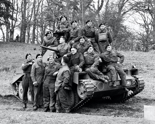 4 Troop, 'A' Squadron, 3rd County of London Yeomanry (Sharpshooters), 1941