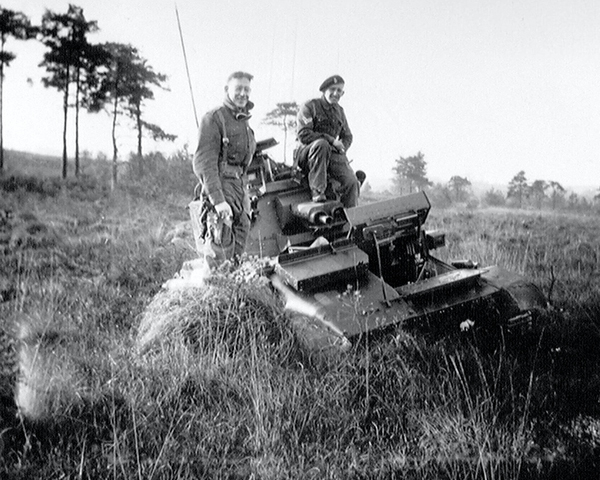 'Freddie's Folly', Vickers light tank, Surrey, 1940