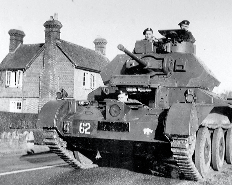 'The 1st Cruiser', 3rd County of London Yeomanry (Sharpshooters), Surrey, November, 1940