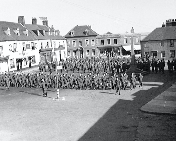 'C.O.'s Parade', 3rd County of London Yeomanry (Sharpshooters), Westbury, 1941