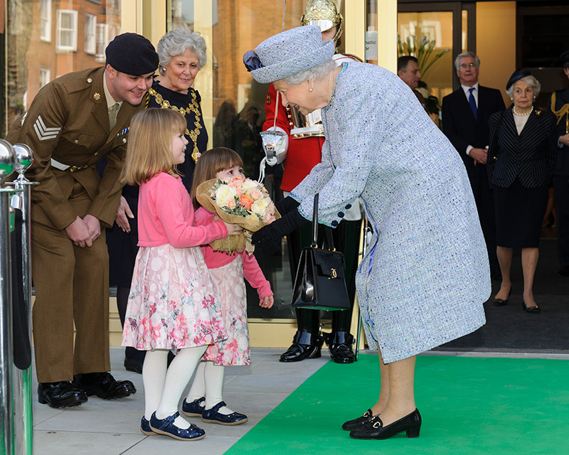 Queen Elizabeth II, Royal Opening, 16 March 2017