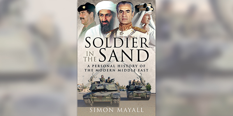 'Soldier in the Sand' book cover