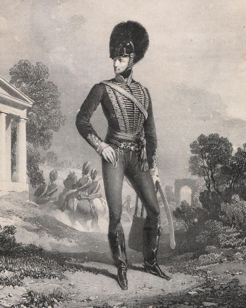 Major-General John Le Marchant, First Lieutenant Governor of the Royal Military College, c1810