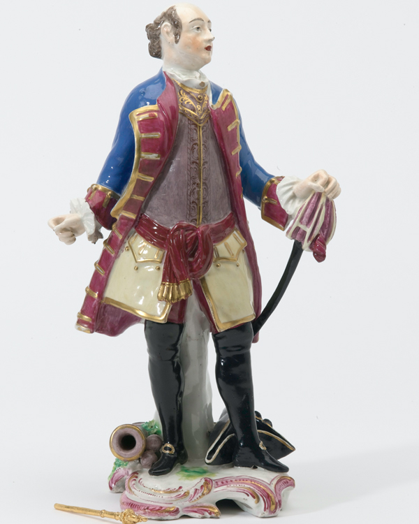 Figurine of General John Manners, Marquess of Granby, c1760