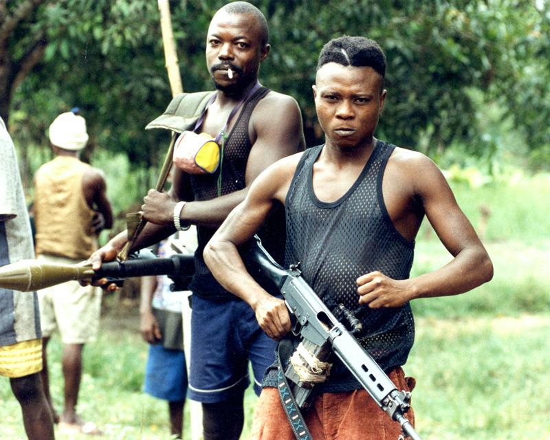 Members the West Side Boys gang, 2000