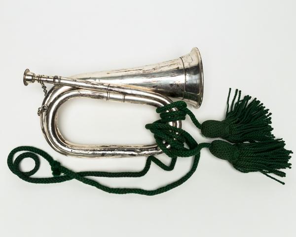 Presentation bugle, 4th Battalion The Manchester Regiment, 1901